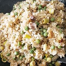 咸肉竹笋豌豆糯米饭