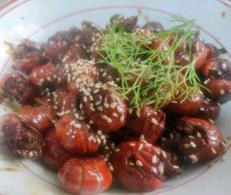 秘制蒜蓉小龙虾的做法