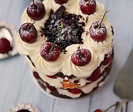 黑森林裸蛋糕的做法