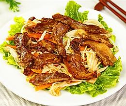超级解馋的韩式烤肉做法的做法
