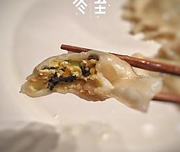 丝瓜虾仁鸡蛋馅饺子的做法