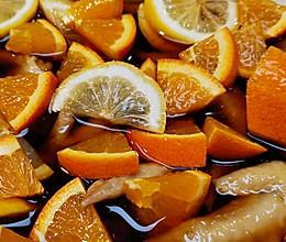 【橙香醋酸泡鸡尖【❤️】蜜桃爱营养师私厨的做法
