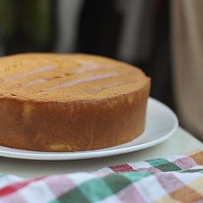 全蛋海绵蛋糕(8寸圆模)