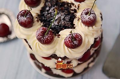 黑森林裸蛋糕