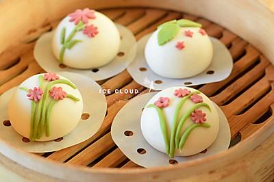 一道菜表白豆果美食-花样馒头(2)