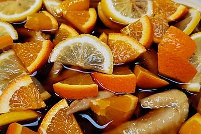 【橙香醋酸泡鸡尖【❤️】蜜桃爱营养师私厨