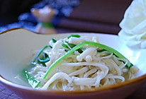 芥末金针菇的做法