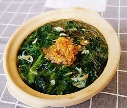鲜汤小白菜的做法