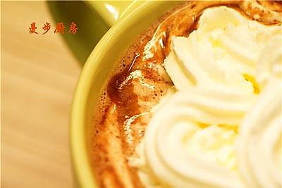 【曼步厨房】- 热巧克力