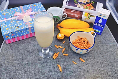 麦冬香蕉牛奶