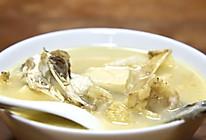 随意鱼头汤的做法