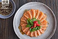 日式和风三文鱼的做法