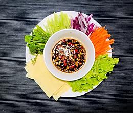 减肥必备 蘸酱菜 适合做晚餐 拿肉都不换的做法