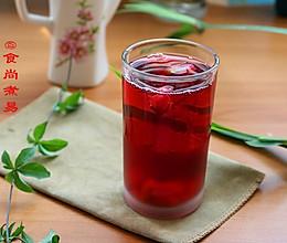 洛神花玫瑰枸杞茶的做法