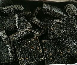 黑芝麻糖的做法