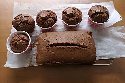 巧克力磅蛋糕+#安佳黑科技易涂抹软黄油#