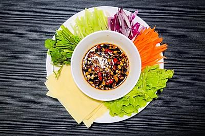减肥必备 蘸酱菜 适合做晚餐 拿肉都不换