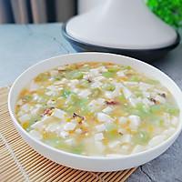 #秋天怎么吃# 丝瓜豆腐羹的做法图解9