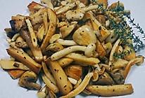 香炒菌菇的做法