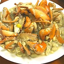 煎煮奄仔蟹