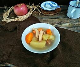 响螺肉苹果汤#《风味人间》美食复刻大挑战#的做法