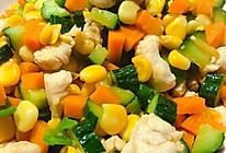 金玉满堂(玉米胡萝卜炒黄瓜)减肥餐的做法