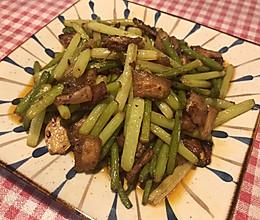 蒜薹回锅肉的做法
