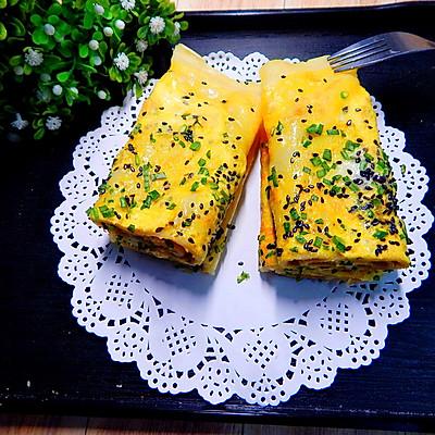 鸡蛋酱香饼