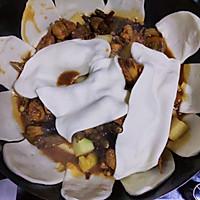 地锅鸡 小鸡合饼 锅贴饼的做法图解16