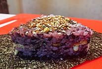 雪糯米饭团的做法