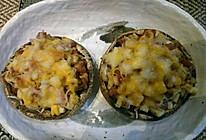 烟肉芝士焗大蘑菇的做法