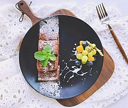 巧克力砖块—吐司三明治#秋天怎么吃#的做法