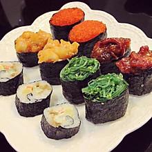 军舰寿司拼盘