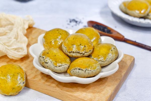 黑芝麻粉酥饼#带着美食去踏青#的做法