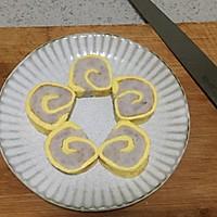 芋泥鸡蛋卷的做法图解12