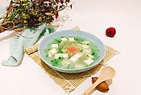 #《风味人间》美食复刻大挑战#荠菜豆腐羹的做法