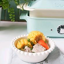 超级鲜美的排骨玉米汤