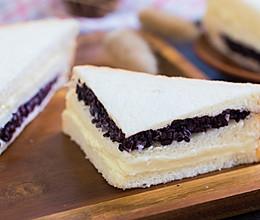 紫米奶酪土司的做法