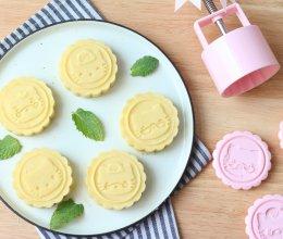 奶香绿豆糕的做法