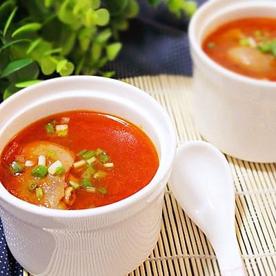 番茄猪蹄汤