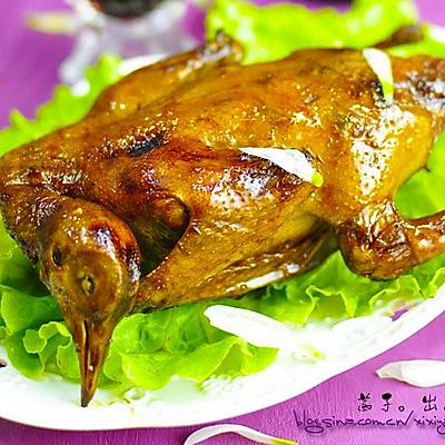 创意玩转美色鲜香的烤乳鸽:【中西合璧烤乳鸽】