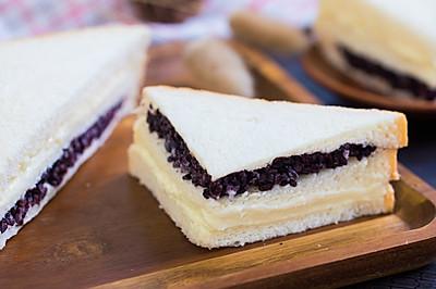 紫米奶酪土司