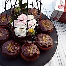 《被困的少女心》下午茶之~翻糖花巧克力马芬#约会MOF#