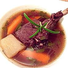 法式迷迭香红酒炖羊排(铸铁锅版)