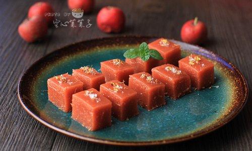 【桂花山楂糕】——零添加剂开胃甜品的做法