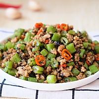 橄榄菜肉末四季豆的做法图解16