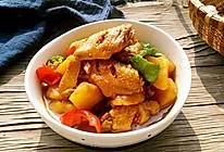 土豆炖鸡翅#舌尖上的春宴#的做法