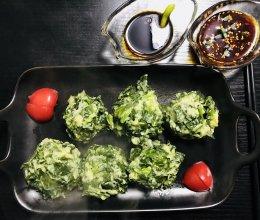 穆小馋*菠菜、菜疙瘩两吃的做法
