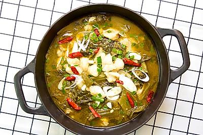 家常酸菜魚,酸辣下飯就屬它