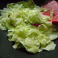 炝炒圆白菜 的做法图解6